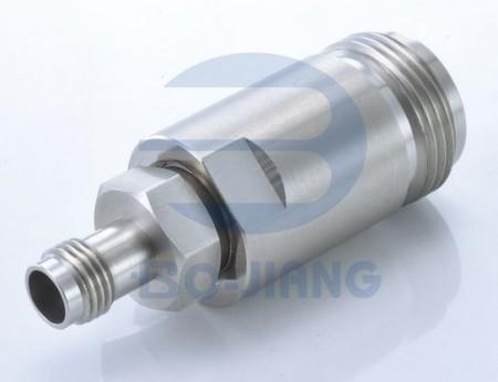 2.4mm Female to N Type Female RF/Microwave Coaxial Adaptor - 2.4.mm Jack to N Jack Adaptor
