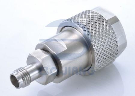 2.4mm Female to N Type Male Adaptor - 2.4mm Jack to N Plug Adaptor