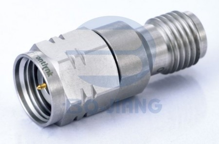 2.4mm MALE TO 2.92mm (K) FEMALE RF/Microwave Coaxial ADAPTOR - 2.4mm Plug TO 2.92mm JACK Adaptor