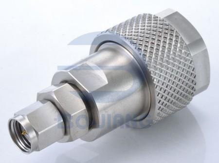 2.4mm Male to N Type Male Adaptor - 2.4mm Plug to N Plug Adaptor
