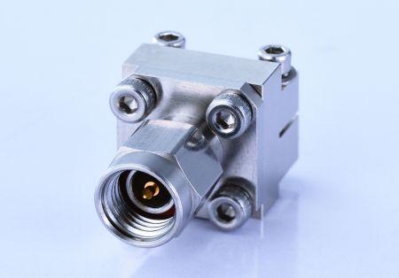 Разъем для запуска с наружной резьбой 3,5 мм - Беспаечный торцевой ввод 3,5 мм для печатной платы, от постоянного тока до 34 ГГц
