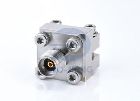 Разъем для запуска с внутренней стороны 3,5 мм - Беспаечный торцевой ввод с разъемом 3,5 мм для печатной платы, от постоянного тока до 34 ГГц