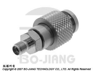 3.5mm FEMALE TO BNC MALE ADAPTOR - 3.5mm Jack to BNC Plug Adaptor