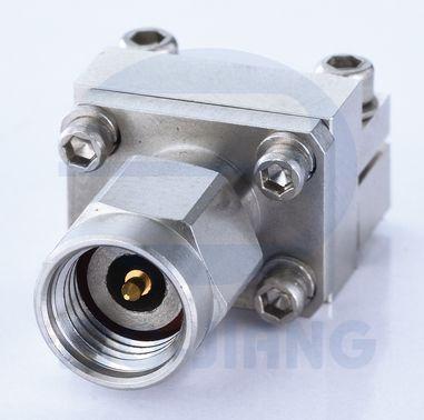 Разъем запуска с наружной резьбой 2,92 мм - Торцевой ввод без пайки Pluf 2,92 мм для печатной платы, от постоянного тока до 40 ГГц