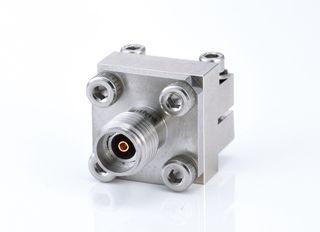 Разъем запуска с внутренней резьбой 2,92 мм - Торцевой ввод без пайки с разъемом 2,92 мм для печатной платы, от постоянного тока до 40 ГГц