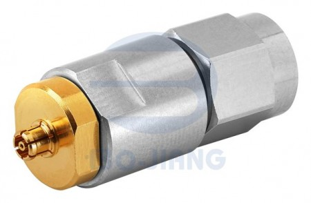 K (2.92 mm) PLUG TO SMPM JACK ADAPTOR - K (2.92 mm) Plug to SMPM Jack Adaptor