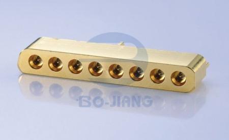 8 PORT PCB SMT PLUG W/O SCREWS - 8 PORT PCB SMT PLUG