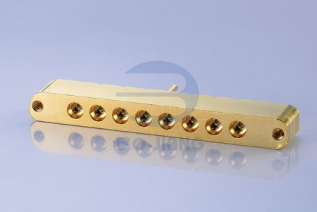 8 PORT PCB SMT PLUG WITH SCREWS
