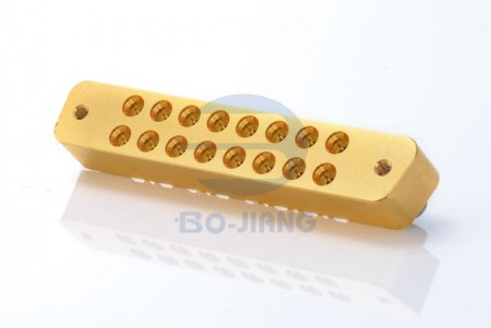 16 PORT PCB SMT PLUG WITH SCREWS - 16 PORT PCB SMT PLUG