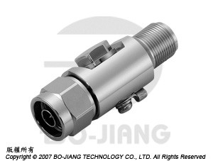 N type male to female RF Surge Arrester, 2~6 GHz