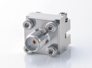 Разъем запуска с внутренней стороны SMA - Концевой ввод без пайки разъема SMA для печатной платы, от постоянного тока до 26,5 ГГц