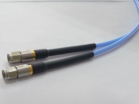 SMA Microwave/RF coaxial series phase and amplitude stable cable assemblies - SMA precision RF coaxial match cable