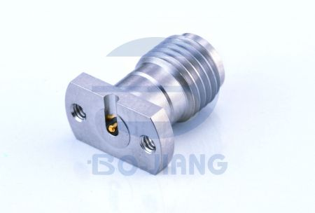 SMA Female Solderless PCB Connectors, Mirco Strip Type. - SMA series Mirco Strip type with trench
