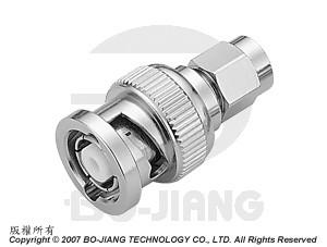 Adaptor BNC R/P PLUG TO SMA PLUG - Adaptor BNC R/P Plug to SMA Plug