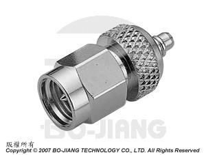 Adaptor SMA PLUG TO MMCX PLUG - Adaptor SMA Plug to MMCX Plug