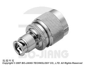 Adaptor MINI BNC PLUG TO N PLUG - Adaptor Mini BNC Plug to N Plug