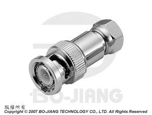 Adaptor BNC PLUG TO F PLUG - Adaptor BNC Plug to F Plug