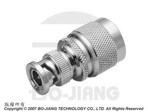 Adaptor BNC PLUG TO N PLUG - Adaptor BNC Plug to N Plug