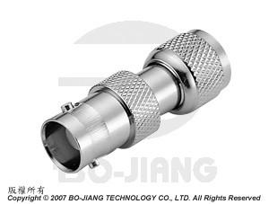 BNC female to MINI UHF male RF Coaxial adaptor
