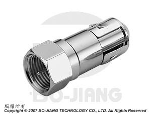 F TYPE MALE TO G FEMALE RF/MICROWAVE COAXIAL ADAPTOR - Adaptor F Plug to G Jack