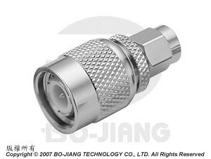 TNC MALE TO SMA MALE RF/MIRCWAVE COAXIAL ADAPTOR - Adaptor TNC Plug to SMA Plug