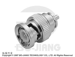 BNC RF Coaxial connector recept type for modeling mode