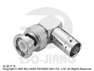 BNC R/A JACK TO PLUG ADAPTOR - BNC R/A Jack to Plug Adaptor