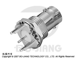 BNC SMT END LAUNCH JACK - BNC SMT End Launch Jack