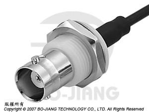 BNC female RF Coaxial connector, for crimping type