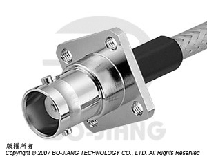 BNC female RF Coaxial connector, crimping type