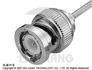 BNC Male RF connector, soldering type