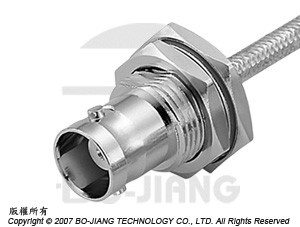 BNC Female RF connectors, soldering type