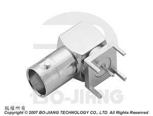 BNC R/A PCB MOUNT JACK - BNC R/A PCB Mount Jack