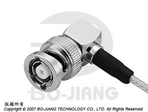 BNC Reverse Polarity R/A CRIMP PLUG - BNC Reverse Polarity R/A Crimp Plug