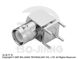 PCB, montage - BNC à polarité inversée - PCB, MOUNT