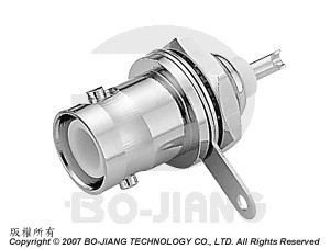 Reverse Polarity BNC Connectors, Flange type