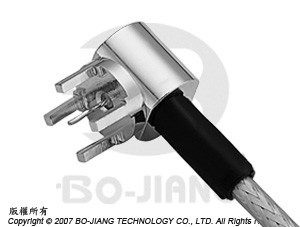 CABLE TERMINATOR R/A PCB MOUNT CRIMP - Cable Terminator R/A PCB Mount Crimp