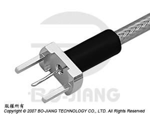CABLE TERMINATOR PCB MOUNT CRIMP - Cable Terminator PCB Mount Crimp