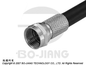 F MALE RF/MIRCOWAVE COAXIAL CONNECTOR TWIST ON TYPE