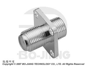F PANEL JACK TO BULKHEAD JACK ADAPTOR - F Panel Jack to Bulkhead Jack Adaptor