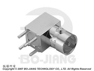 MINI BNC R/A PCB MOUNT JACK