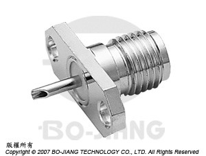 SMA  FEMALE  RF/MIRCOWAVE COAXIAL CONNECTOR FLANGE MODE WITH SOLDER CUP