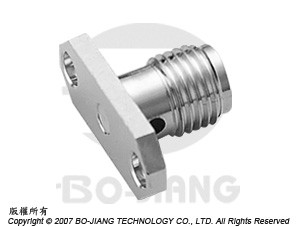 SMA FEMALE RF/MIRCOWAVE COAXIAL CONNECTOR FLANGE MODE RECEPT TYPE WITH ACCEPTS PIN