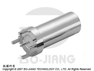 SMB 75 ohms PCB MOUNT PLUG - SMB 75 Ohms PCB Mount Plug