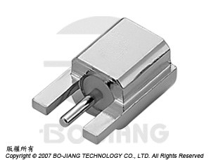 SMP MALE, END LAUNCH CONNECTOR, SURFACE MOUNT
