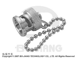 BNC PROTECTIVE CAP W/ CHAIN PLUG - TERMINATOR AND ACCESSORIES