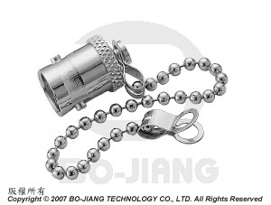 BNC PROTECTIVE CAP W/ CHAIN JACK - TERMINATOR AND ACCESSORIES