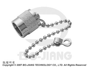 TNC PROTECTIVE CAP W/ CHAIN PLUG - TERMINATOR AND ACCESSORIES
