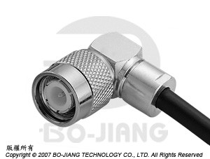 TNC R/A CLAMP PLUG - TNC R/A Clamp Plug