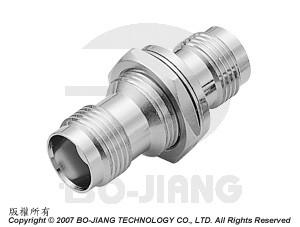 TNC FEMALE TO FEMALE BULKHEAD MODE  RF/MIRCWAVE COAXIAL ADAPTOR